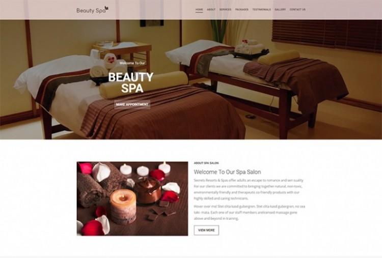 Beauty Spa HTML Template