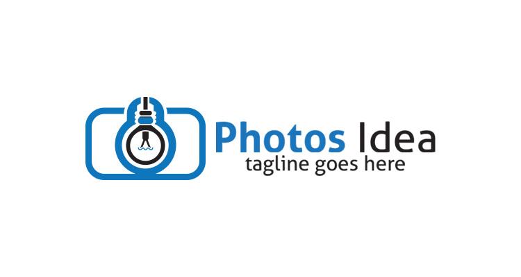 Camera Bulb Logo