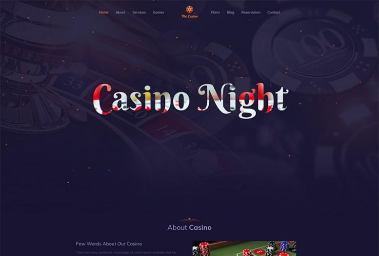Club House HTML Template
