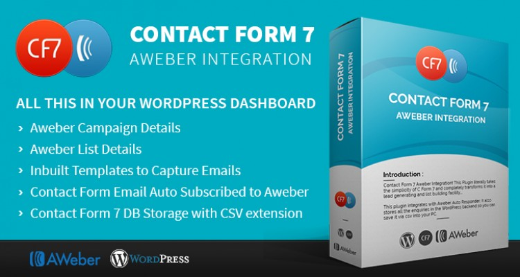Contact Form 7 Aweber Integration
