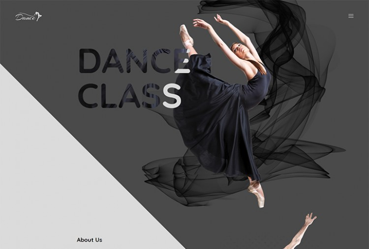 Dance Single HTML Template