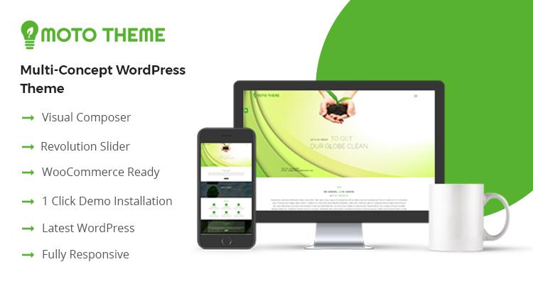 Eco Friendly Wordpress Theme