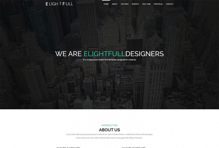 Elightfull HTML Template