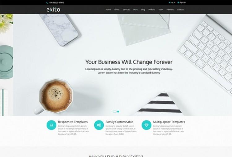 Exito HTML Template