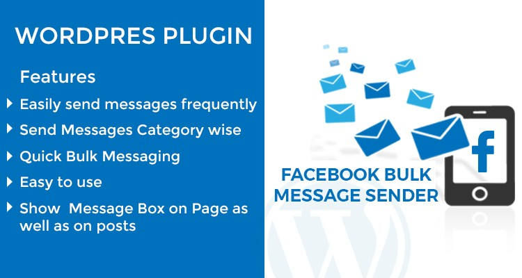 Facebook Bulk Sender WordPress Plugin