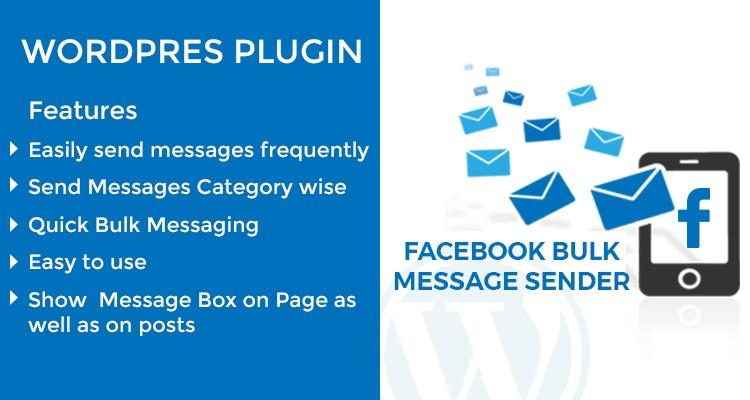 Facebook Bulk Sender WordPress Plugin