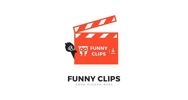 Funny Clip Logo