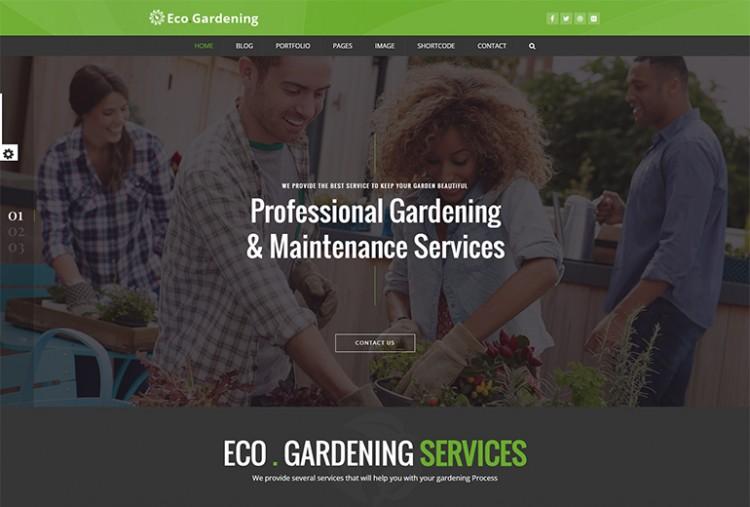Garden Care HTML Template