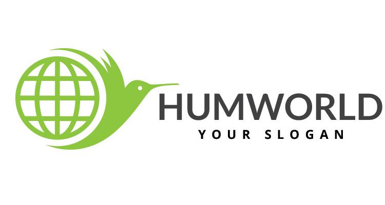 Humming Bird World Logo