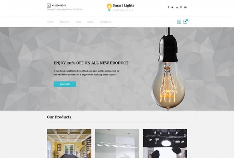 Lighting Store HTML Template