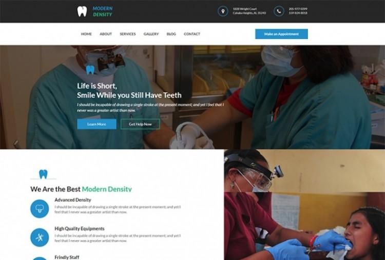 Modern Dentistry HTML Template