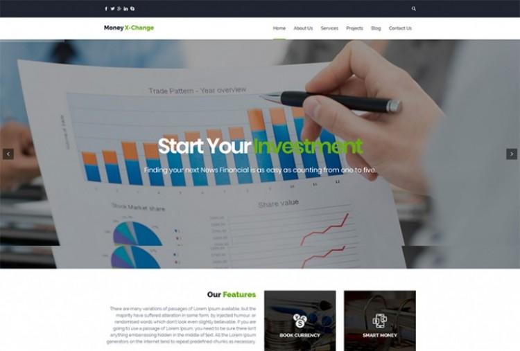 Money Exchange HTML Template