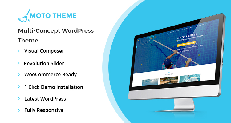 Pool Cleaners Wordpress Theme