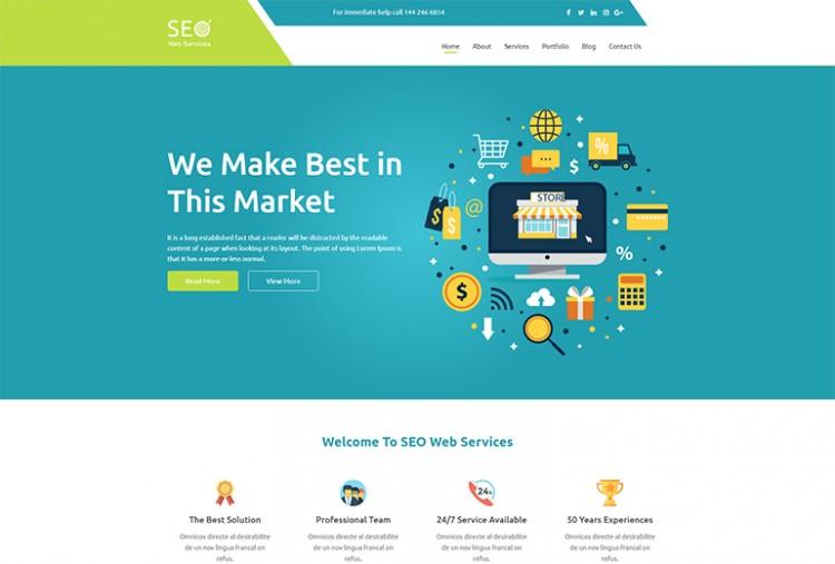 Seo HTML Template