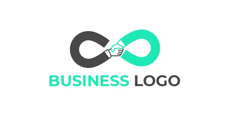 Shake Hand Business Logo