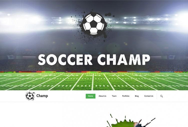 Soccer HTML Template