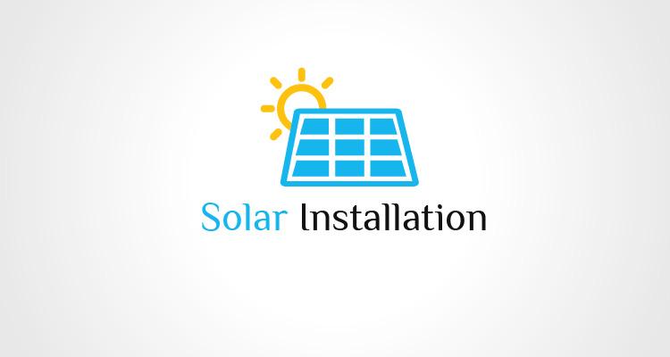 Solar Installation Logo