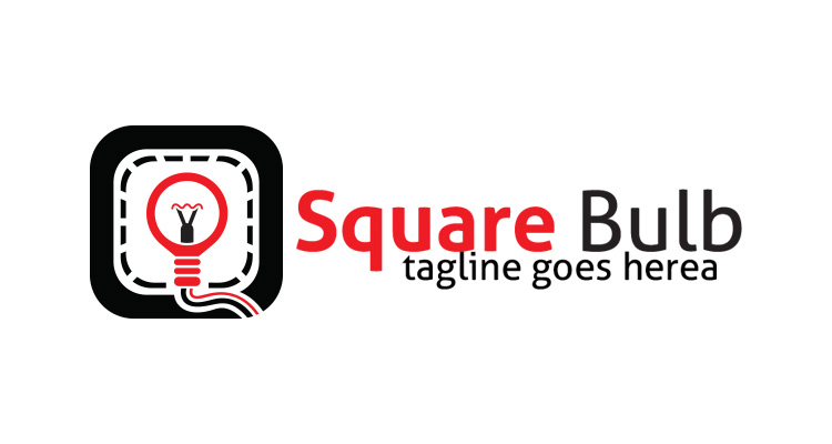 Square Bulb Logo