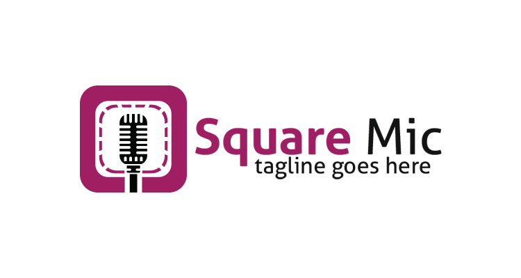 Square Mic Logo