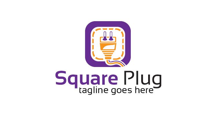 Square Plug Logo 02