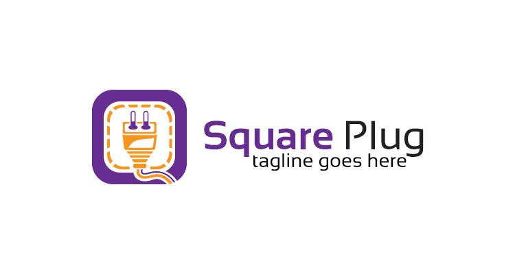 Square Plug Logo