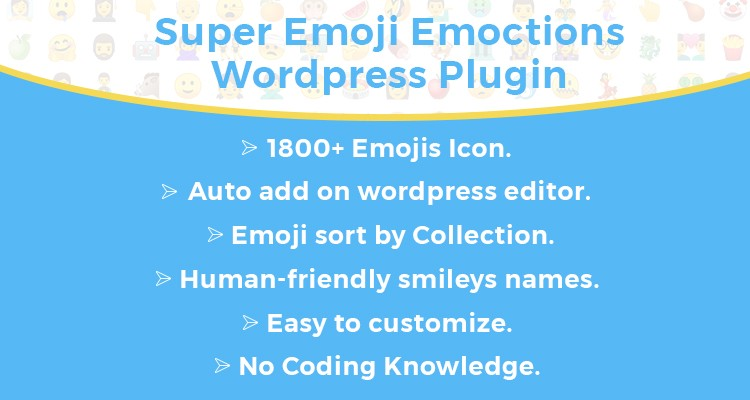 Super Emoji Emoticons WordPress Plugin