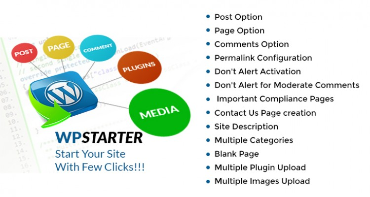 WP-Starter WordPress Plugin